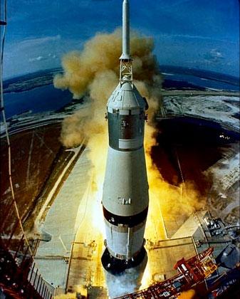 Saturno V, photo: CDATA/NASA