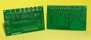 PCB versión 3 de Photoduino hechos en México